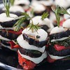 BEN GARVER — THE BERKSHIRE EAGLE<br /> Eggplant Napoleons are one of the prepared offerings at the Berkshire Food Co-op.<br /> The Berkshire Food Co-op has moved to Powerhouse Square next to its former location and is bustling with activity, Wednesday, June 19, 2019.