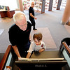 "Sheldon Hendricks look on the computer with his  grandson, Elliot Hendricks, 9,  at the Boulder Public Library on Saturday.<br /> For more photos of the library, go to  <a href=""http://www.dailycamera.com"">http://www.dailycamera.com</a>.<br /> Cliff Grassmick / April 21, 2012"