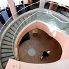 "Sheldon Hendricks walks through the bottom floor of the Boulder Public Library on Saturday.<br /> For more photos of the library, go to  <a href=""http://www.dailycamera.com"">http://www.dailycamera.com</a>.<br /> Cliff Grassmick / April 21, 2012"
