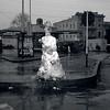 Feb. 5, 1948<br /> Snowman downtown<br /> ck