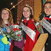 Abigail Blauvelt (center) was selected as the 2014 Miss Penn Yan Friday, Dec. 6. Mary Katherine Killen (left) was the first runner up, while Stephanie Owens (right) was selected as second runner up.