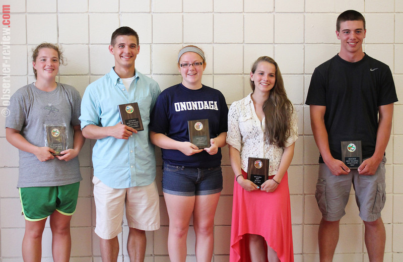 Watkins Most Valuable Players: Halle Phillips, golf; Matt Gill, track; Jordan Doane, softball; Taylor Hughey, softball and Keith Rekczis, golf.