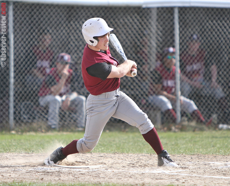 Colin Prior connects for an RBI in the Monday, April 21 game.