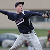 Brennon DeMeritt pitches for Watkins Glen against Odessa Wednesday, April 23.