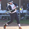 Ashley Walker connects for Penn Yan in the game, Thursday, April 24.