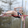 Lindsey Suddaby competes in the pole vault event for Watkins Glen,  Friday, May 2.