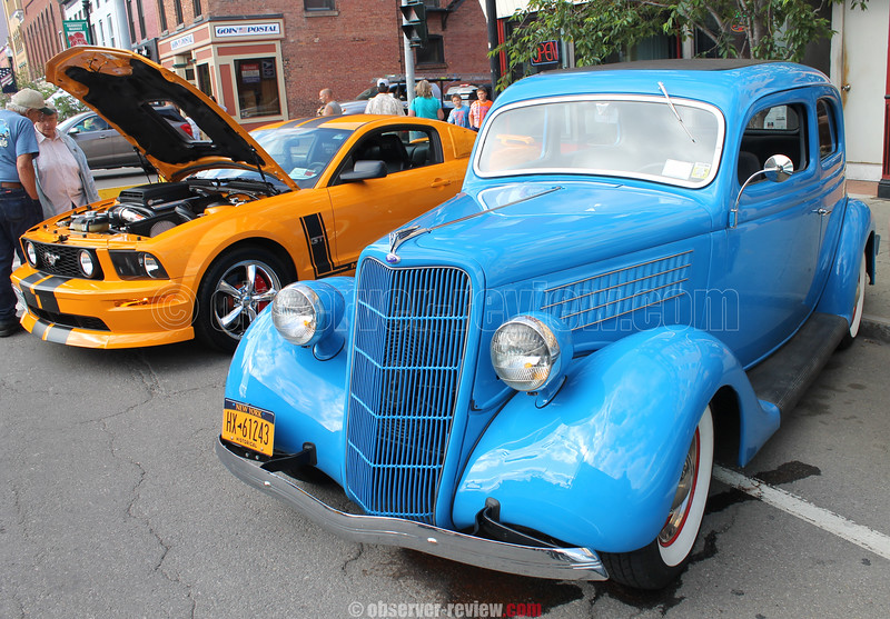 Dundee Show n' Go 2015 and Penn Yan Cruisin' Night 2015.