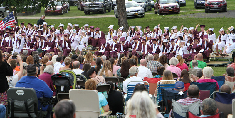 Dundee Central School Graduation, June 25, 2015.