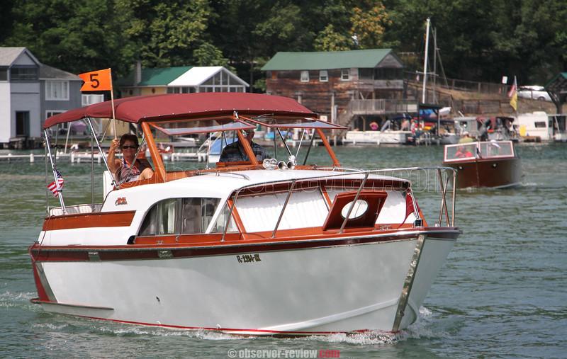 Hammondsport Antique Boat Show 2015.