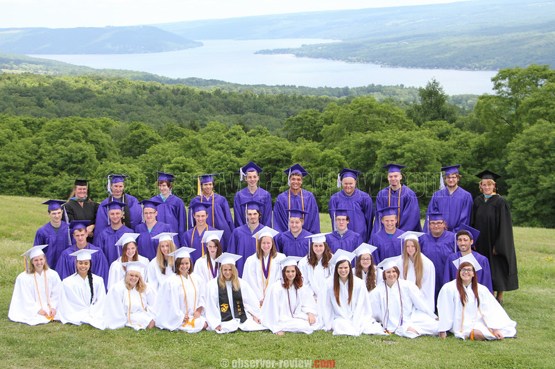 Hammondsport Graduation June 26, 2015.