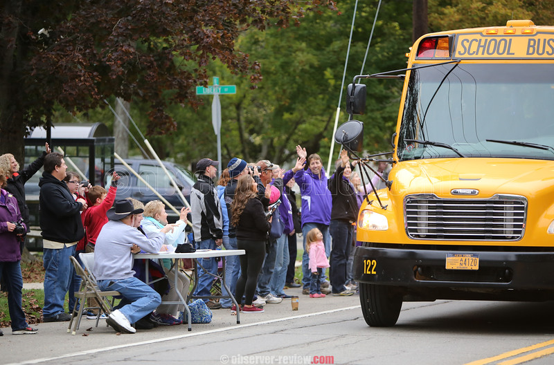 Hammondsport Homecoming Parade 2015.