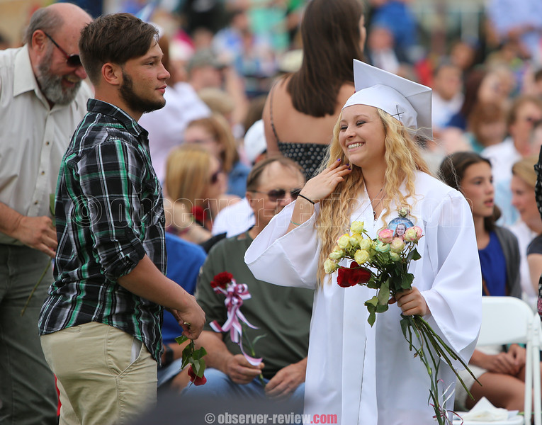 Dundee Central School High School Graduation, June 23, 2016.