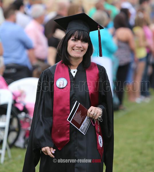 Dundee Central School High School Graduation, June 23, 2016.
