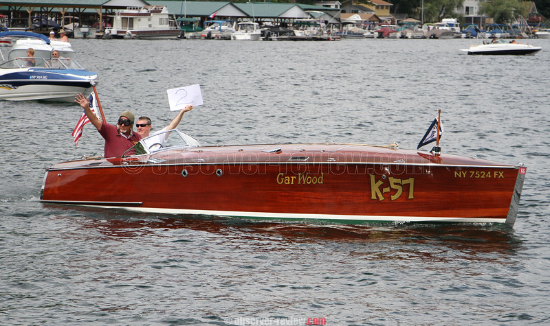 Hammondsport Antique Boat Show 2016.