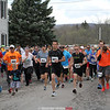 Heart of Finger Lakes 5k run/walk in Dundee, NY 2016.