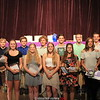 PHOTO PROVIDED/Athletes were given awards for performance, improvement and leadership at the Hammondsport sports awards ceremony, Wednesday, June 1.