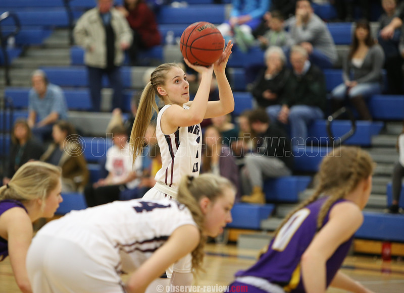 Watkins Glen Girls Basketball 2-17-16.