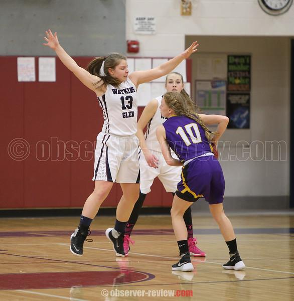 Watkins Glen Girls Basketball 2-17-16.