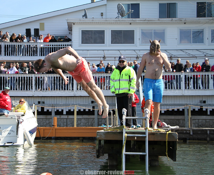 Switzerland Inn Polar Bear Plunge, Saturday, March 26, 2016.