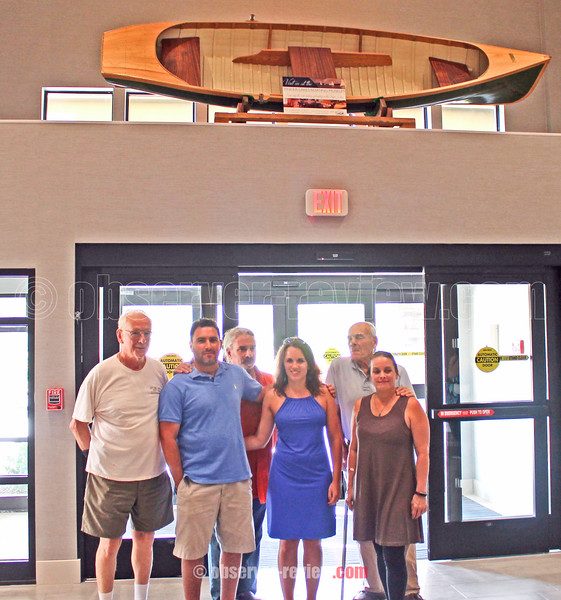 The Hammondsport Hotel, Finger Lakes Boating Museum, Dedication 7-5-16.