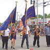 The Dundee Memorial Day parade, Monday.