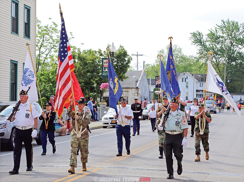 Villages across the Finger Lakes commemorated Memorial Day, Monday, May 28. There was a parade in Penn Yan, Monday morning.