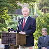 Judge J.C. Argetsinger was the featured speaker at the Montour Falls service.