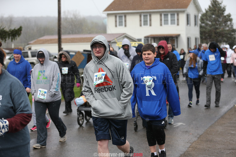 The Heart of the Finger Lakes 5K in Dundee, April 27, 2019.