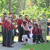 Dundee Central School's band marched in the parade and also performed for the audience at the park.
