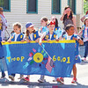 The Girl Scouts were one of the many entries in the Penn Yan Memorial Day parade, Monday, May 27.