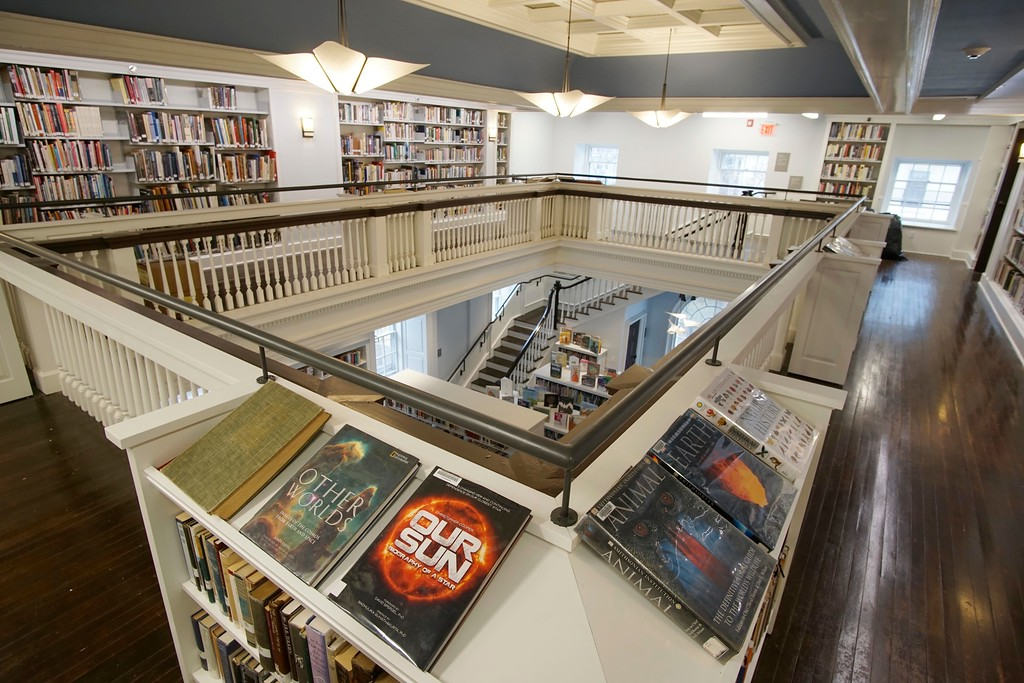 . The Jackson Wing of the Stockbridge Library is the oldest part of the building and a showpiece, Tuesday, April 26, 2016. Ben Garver � The Berkshire Eagle | photos.berkshireeagle.com