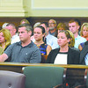 The Hart family and others look on during the sentencing of Jason Guynup for the murder of his girl friend Nikki Hart Monday, August 26, 2013 at Rensselaer County Court  in Troy, N.Y.. (J.S.CARRAS/THE RECORD)