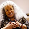 BEN GARVER — THE BERKSHIRE EAGLE<br /> Gospel singer Wanda Houston sings at The Women of Color Giving Circle of the Berkshires annual Kwanzaa Celebration at the Whitney Center for the Arts in Pittsfield, Friday December 28, 2018.