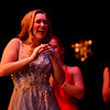 KRISTOPHER RADDER - BRATTLEBORO REFORMER<br /> Meara Seery reacts after finding out that she won the final Brattleboro Winter Carnival Queen's Scholarship Pageant on Friday, Feb. 23, 2018.