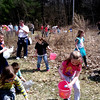 Easter egg hunt for children at the Youth Center in Adams. Sunday, April 14, 2014 (Jennifer Huberdeau / Berkshire Eagle Staff / photos.berkshireeagle.com)