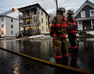 Three-alarm in Bellows Falls - 032717