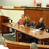"Tim Masters and his post-conviction attorney, Maria Lui, center, spoke at the University of Colorado Law School on October 13, 2011. The program was sponsored by the Colorado Innocence Project. Masters spent years in prison for a crime he did not commit.<br />  For more photos and a video, go to  <a href=""http://www.dailycamera.com"">http://www.dailycamera.com</a>.<br /> Cliff Grassmick / October 13, 2011"