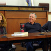 "Attorney Maria Lui, left, attorney, David Wymore, and adjunct CU Law professor, Bill Nagel were part of the panel with Tim Masters.<br /> Tim Masters and his post-conviction attorney, Maria Lui, spoke at the University of Colorado Law School on October 13, 2011. The program was sponsored by the Colorado Innocence Project. Masters spent years in prison for a crime he did not commit.<br />  For more photos and a video, go to  <a href=""http://www.dailycamera.com"">http://www.dailycamera.com</a>.<br /> Cliff Grassmick / October 13, 2011"
