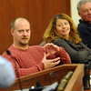 "Tim Masters, left, answers questions from the audience at the CU Law School.<br /> Tim Masters and his post-conviction attorney, Maria Lui, spoke at the University of Colorado Law School on October 13, 2011. The program was sponsored by the Colorado Innocence Project. Masters spent years in prison for a crime he did not commit.<br />  For more photos and a video, go to  <a href=""http://www.dailycamera.com"">http://www.dailycamera.com</a>.<br /> Cliff Grassmick / October 13, 2011"