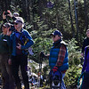 KRISTOPHER RADDER - BRATTLEBORO REFORMER<br /> A group of people participated in a tour of an active timber harvest at Molly Stark State Park on Friday, Feb. 24, which  was presented by Windham Regional Woodlands Association and Hogback Mountain Conservation Association.