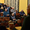 KRISTOPHER RADDER — BRATTLEBORO REFORMER<br /> United States Congressman Peter Welch (D-Vt) hosts his first town hall since the midterm elections at the Latchis Theatre, in Brattleboro, Vt., on Monday, Nov. 19, 2018.