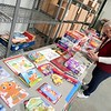 BEN GARVER — THE BERKSHIRE EAGLE<br /> Linda Hanson sorts toys at the warehouse of the Berkshire County House of correction, The Berkshire County Sheriff's Office and  the Marine Corps League Pittsfield Detachment 137 gather toys for distribution at the Berkshire County House of Correction for Berkshire County children and Toys for Tots, Tuesday, December 10, 2019.