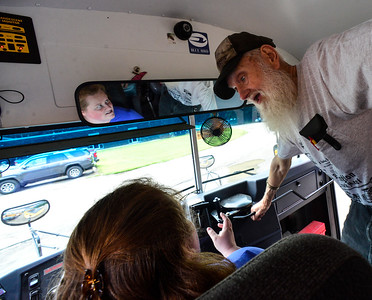Training to drive a school bus - 082118