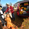 KRISTOPHER RADDER — BRATTLEBORO REFORMER<br /> From witches to superheroes and everything in-between gathered at the Chesterfield Elementary School, in Chesterfield, N.H., to share a laugh and a scare during a trunk-or-treat event on Saturday, Oct. 26, 2019.