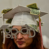 KRISTOPHER RADDER - BRATTLEBORO REFORMER<br /> Taylor Florence, a graduating senior, shows off her money cap before the start of the Twin Valley Middle High School commencement ceremony on Saturday, June 9, 2018.