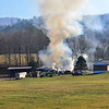 Crews responded to a two-alarm barn fire at 100 Lockerby Way, in Westminster, Vt., on Sunday, Nov. 17, 2019. No injuries were reported and all animals were safely removed from the building.