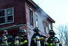 KRISTOPHER RADDER - BRATTLEBORO REFORMER<br /> Several crews responded to a two-alarm fire in Putney around 4:45 p.m. on Monday, Feb. 27, 2017.