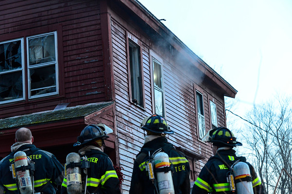 Two-alarm fire in Putney - 022717