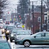 BEN GARVER — THE BERKSHIRE EAGLE<br /> A busy city corridor could soon see road and sidewalk changes, <br /> a redesign for Tyler Street so far involves narrowing the vehicle travel area, adding a bike lane and improving sidewalks — steps that would provide a public counterpart to private investments trickling into the neighborhood.