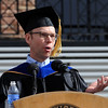 """Steve Ells, founder, chairman and co-CEO of Chipotle Mexican Grill,  gave the commencement address on Friday.<br /> A total of 5,897 degrees were conferred during the University of Colorado Spring 2011 Commencement on Friday.<br /> For more photos and a video of graduation, go to  <a href=""""http://www.dailycamera.com"""">http://www.dailycamera.com</a>.<br /> Cliff Grassmick/ May 6, 2011"""